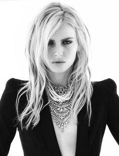 Andreja Pejic, transgender pioneer, and androgynous fashion icon.