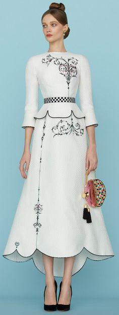 Ulyana Sergeenko Spring 2015 Couture