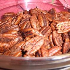 Hot and Spicy Pecans Recipe on Yummly. @yummly #recipe