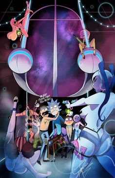 icecry  — Contest entry for Rick and Morty contest. Fiasco...