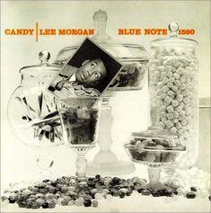 "Lee Morgan: Candy Label: Blue Note 1590 12"" LP 1958  Design: Reid Miles Photo: Emerick Bronson"