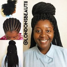 ... Crochet Braids on Pinterest Crochet braid styles, Crochet braids and