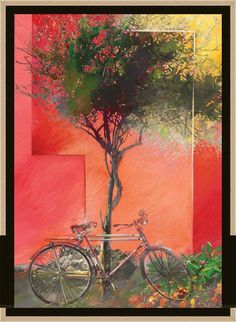 Tree & bicycle - Bizart Galleries
