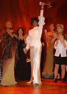 Whitney Houston and Dionne Warwick