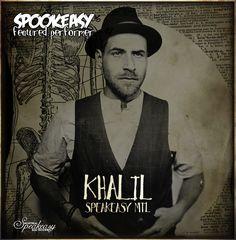 Khalil, résident dj du Speakeasy