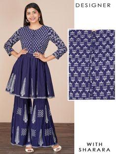 Kurta Sets - Fashor A Line Skirt Outfits, Trendy Kurti, A Line Kurti, Design Page, Juicy Couture Bracelet, Embroidered Kurti, Pink Maxi, Kurta Designs, Dress Sewing Patterns