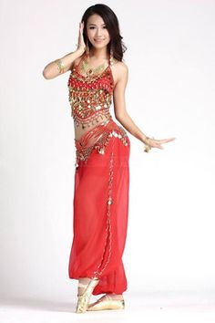 Brand: ZLTdream Color: Red Features: Size: One Size,top fits for Fabric:Chiffon Single Packing List: Belly dance Pants and belly dance top only. This is a great costume for Belly dance/Latin Dance class or performance,and can be paired Costumes For Teens, Halloween Costumes For Girls, Girl Costumes, Halloween Ideas, Adult Halloween, Halloween Stuff, Halloween Halloween, Genie Costume, Costume Dress