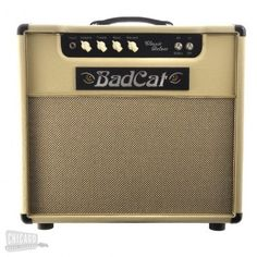 BAD CAT Amplifiers Classic Deluxe 1x12 Cream | The new addition to the Classic Series featuring 20 watt 1x12 combo, tube driven spring reverb and 2 x 6v6 power tubes, GZ34 Rectifier and a pair of 12ax7's.