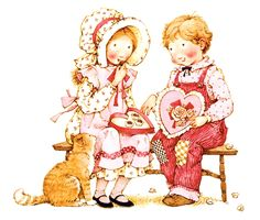 holly hobbie valentine s day holly hobbie valentine day farmhous . Sarah Kay, Holly Hobbie, Toot & Puddle, Penny Parker, Be My Valentine, Funny Valentine, Clipart, Cute Art, Paper Dolls