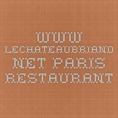 www.lechateaubriand.net - paris restaurant