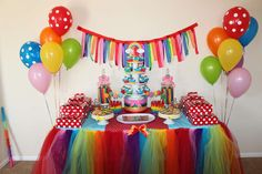 Over the Rainbow Birthday Party Ideas | Photo 8 of 8 | Catch My Party