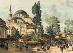 Ottoman Istanbul, KiliÇ Ali Pasha Mosque by ugur274