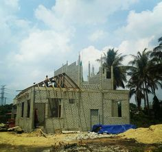 Rumah Banglo Tepi Highway Salor Wakaf Che Yeh Berdekatan Trafik Light Pendek Setingkat Setengah Dalam Pembinaan 45 Progress