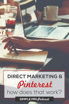 Learn how to use Pinterest for direct sales on the Simple Pin Podcast