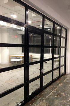 Insulated glass garage door modern frosted with black garage door clear glass garage doors with passing door planetlyrics Gallery