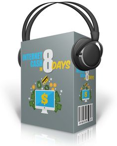 Internet Cash in 8 Days Audios with Master Resell Rights - http://www.buyqualityplr.com/plr-store/internet-cash-8-days-audios-master-resell-rights/.  #InternetCash #InternetCashTips #MakeMoneyOnline #Clickbank #MoneyMethods Internet Cash in 8 Days Audios with Master Resell Rights The real key to make money online is to find a niche where you can succeed. This audio course will help you to identify the right business model for your online....