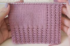 Crochet Stitches Patterns, Sweater Knitting Patterns, Lace Knitting, Knitting Designs, Knitting Projects, Tutorial Crochet, Dresses, Crafts, Knit Baby Sweaters