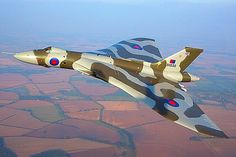 Avro Vulcan B2 of the Royal Air Force.