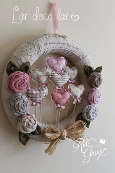 Craft Gifts For Grandparents 25 Ideas Craft Gifts For . Craft Gifts For Grandparents 25 Ideas Craft Gifts For . Craft Gifts For Grandparents 25 Idea. Christmas Crafts For Gifts, Craft Gifts, Diy Gifts, Christmas Diy, Christmas Wreaths, Fabric Wreath, Diy Wreath, Fabric Hearts, Fabric Flowers