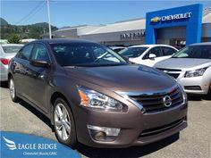2014 Nissan Altima 2.5 SV FWD Auto for sale at Eagle Ridge GM in Coquitlam, near Vancouver!  http://eagleridgegm.com http://facebook.com/eagleridgegm http://twitter.com/eagleridgegm