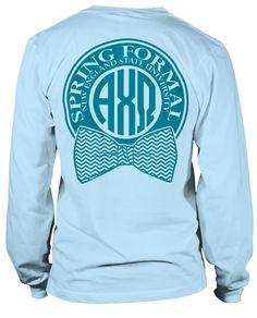 Alpha Chi Omega Formal T-shirt- But in Axid? I want this!