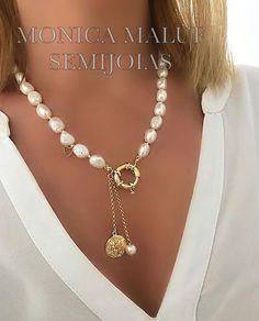 Jewelry Logo, Jewelry Quotes, Skull Jewelry, Bohemian Jewelry, Jewelry Gifts, Beaded Jewelry, Beaded Necklace, Gold Necklace, Ethnic Jewelry