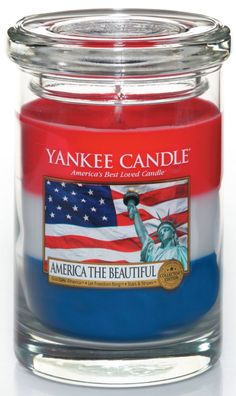 YANKEE CANDLE ~ AMERICA THE BEAUTIFUL ~~