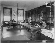 Howard Univ., Washington, D.C., ca. 1900 - Law library | | Library of Congress Prints and Photographs Division, African American  Photographs Assembled for 1900 Paris Exposition