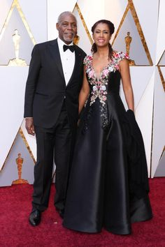 Danny Glover Eliane Cavalleiro  - 2018 Academy Awards: See all the stars on the red carpet
