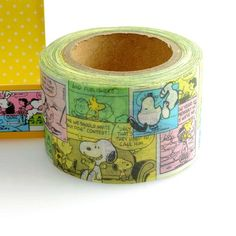 Peanuts Snoopy Paper Craft Tape Deco Tape 30mm Gift by acuteshop, $10.99