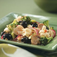 Marinated Salad Recipe -This is a delicious salad that can be made ahead of time. The marinating gives it a lot of flavor and your family will be sure to love it.—Marty Rummel, Trout Lake, Washington