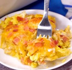 Bacon, Egg & Cheese Biscuit Bake – My Incredible Recipes