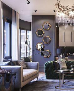 Luxury Homes Interior, Home Room Design, Luxury Home Decor, Luxury Interior Design, Interior Design Living Room, Living Room Designs, Living Room Decor, Neoclassical Interior Design, Living Rooms