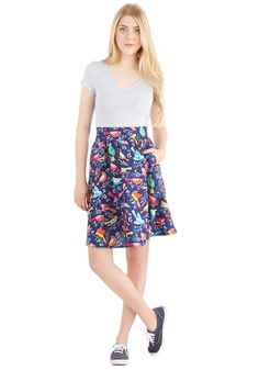 This Songbird is For You Skirt | Mod Retro Vintage Skirts | ModCloth.com