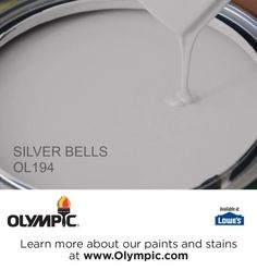 SILVER BELLS OL194 is a part of the grays & blacks collection by Olympic® Paint.