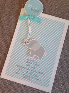 Preciosa tarjeta para un baby shower #babyshower #invitaciones