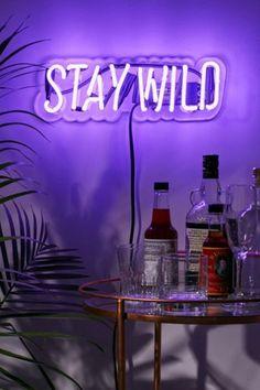 Neon Mfg. Neon Stay Wild Sign