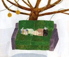 Hana Akiyama Kitty Crowther, Japanese Artists, Hana, Painting & Drawing, Illustration Art, Pastel, Sketches, Sculpture, My Favorite Things