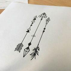 """Résultat de recherche d'images pour """"arrow tattoo"""""""