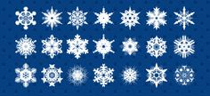 http://www.victoo.net/free-snowflakes-psd-set-543.html
