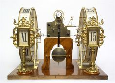 """""""A clock that can be read clearly from all seats"""" – This was what King Frederick Augustus II of Saxony ordered to be built for the auditorium of his new court opera house in Dresden.The ground-breaking design was the work of Johann Christian Friedrich Gutkaes and Ferdinand A. Lange."""