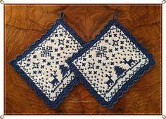 Ravelry: Julenatt gryteklut pattern by Jorunn Jakobsen Pedersen Dishcloth Knitting Patterns, Knit Or Crochet, Washing Clothes, Pot Holders, Cross Stitch Patterns, Ravelry, Free Pattern, Crafts, Tea Cosies
