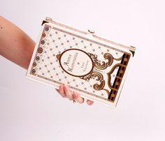 Anna Karenina Book Clutch by chicklitdesigns on Etsy, $165.00