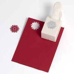 Martha Stewart Crafts - Christmas - Double Craft Punch - Medium - Nordic Snowflake at Scrapbook.com