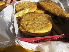 Potato cakes - only in Australia...
