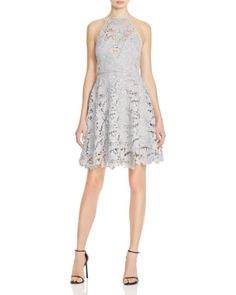 Keepsake Acoustic High Neck Lace Dress