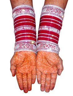 Punjabi Designer Chura For Bride Bangles on Shimply.com