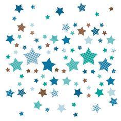 Babyzimmer Sterne New Dinki Balloon Kinderzimmer Wandsticker Sterne Mint Taupe
