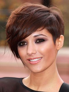 Pixie, Haircut, brown hair