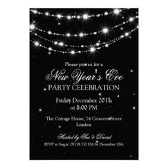 new years eve wedding invitations - Google Search